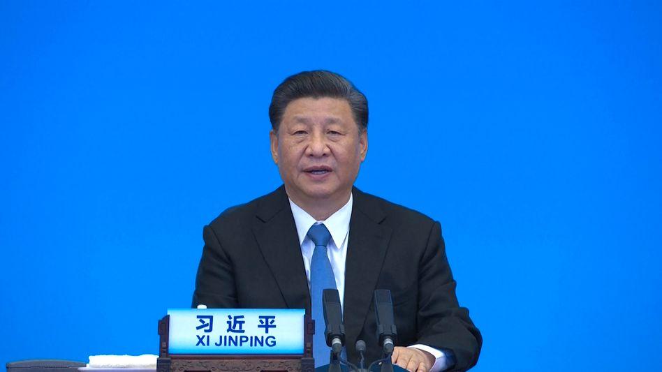 Chinas Präsident Xi: Sticheln gegen die USA