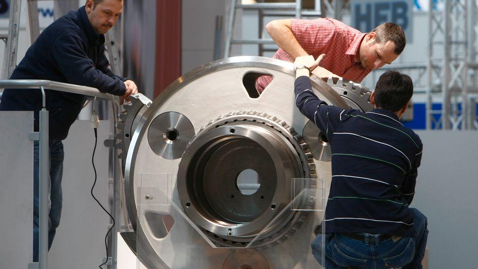 Maschinenbau: Viele Unternehmen mussten in der Krise bis ans Kreditlimit gehen