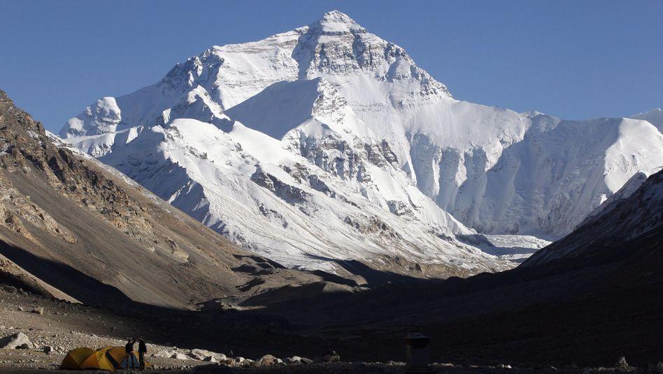 Mount Everest (Archivbild): Aufstiege wieder möglich