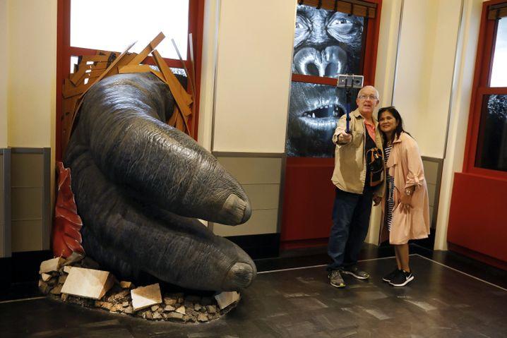 Ausstellung im Empire State Building: Selfie mit Stick und King Kong