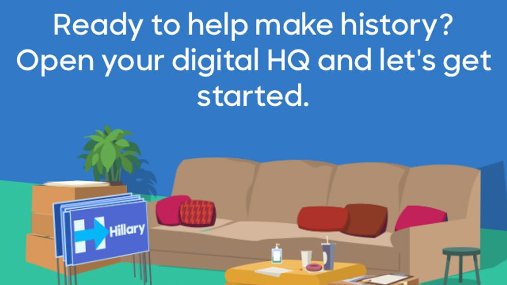 """Hillary 2016"": Einblicke in die Clinton-App"