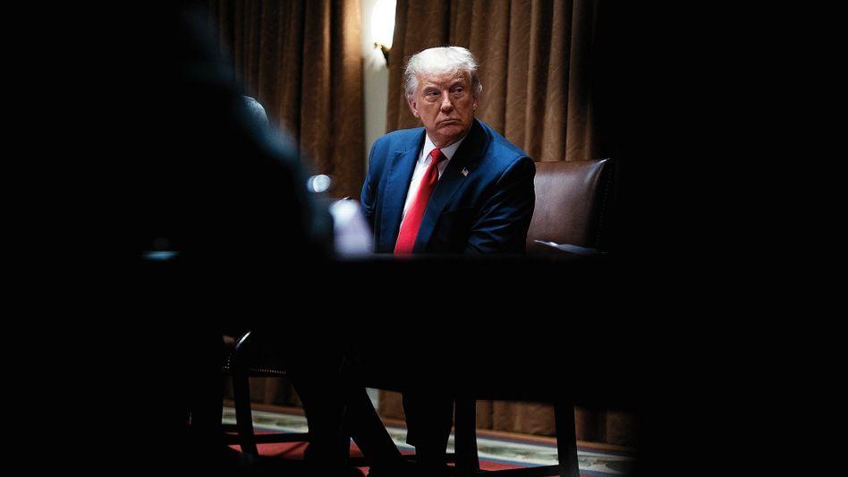 """Krisenmanager Trump:""""Ich sage jetzt nicht einfach Ja"""""""