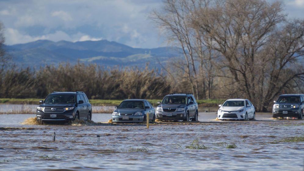 Regenstürme in Kalifornien: Mehrere Tote, riesiges Chaos