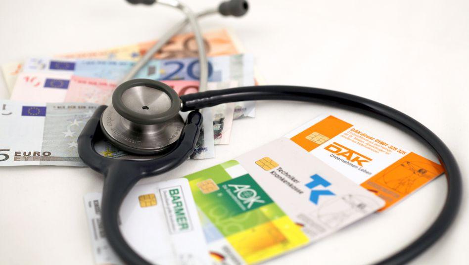 Gesetzliche Krankenversicherung: Milliarden-Deckungslücke