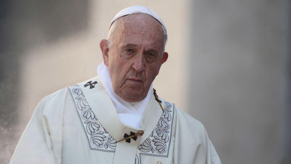 Papst Franziskus warnte in seinem Brief auch vor Alleingängen der Kirche