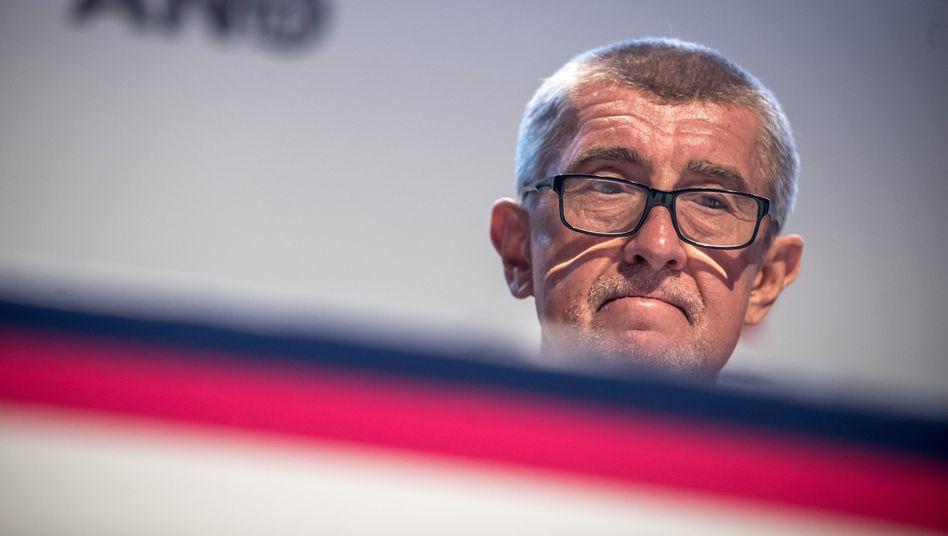 Andrej Babis, tschechischer Regierungschef