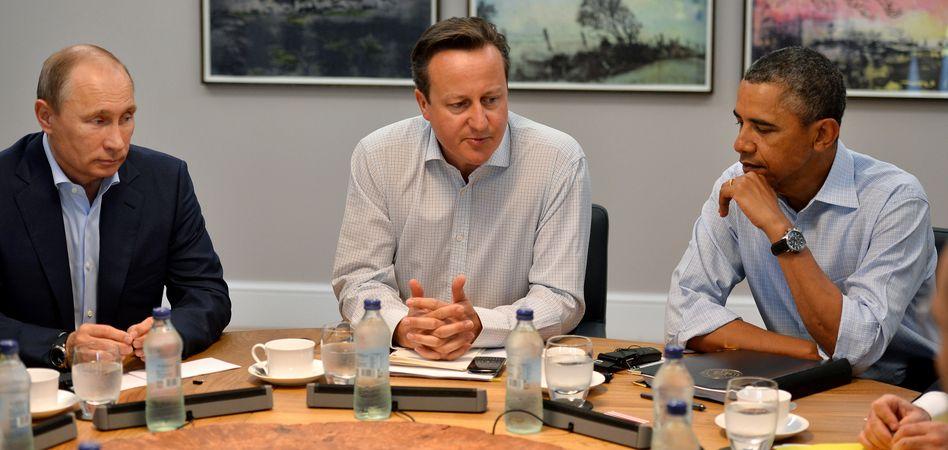G-8-Gipfel 2013 (am irischen Lough Erne): Dieses Jahr ohne Putin?