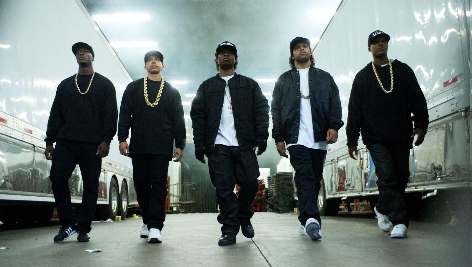 EINMALIGE VERWENDUNG Film/ Straight Outta Compton