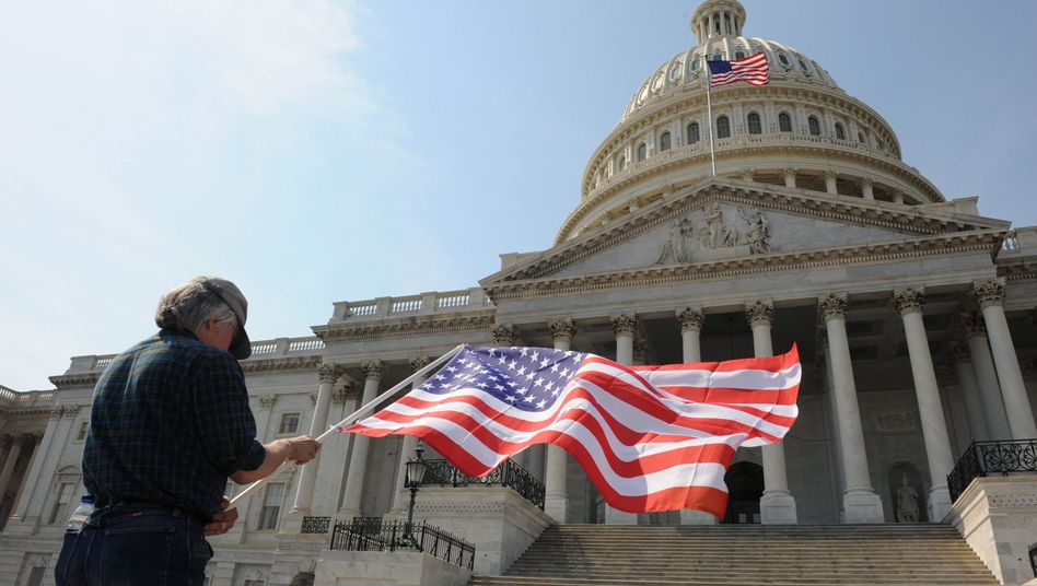 Capitol in Washington: Ausländische Firmen nehmen Einfluss auf US-Politik