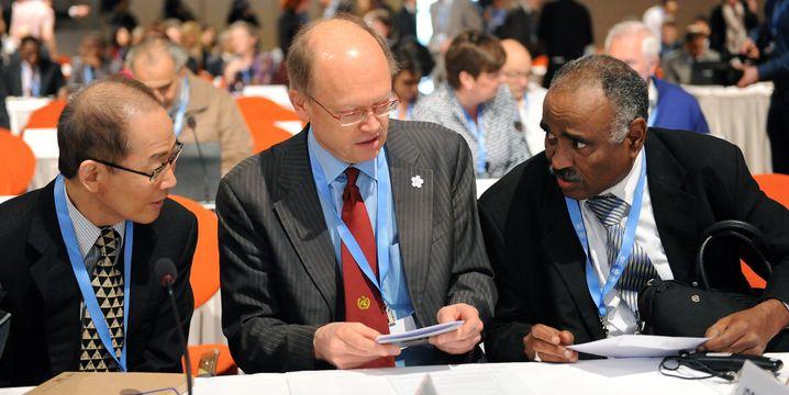 Ismail El Gizouli (rechts): Neuer IPCC-Vorsitzender