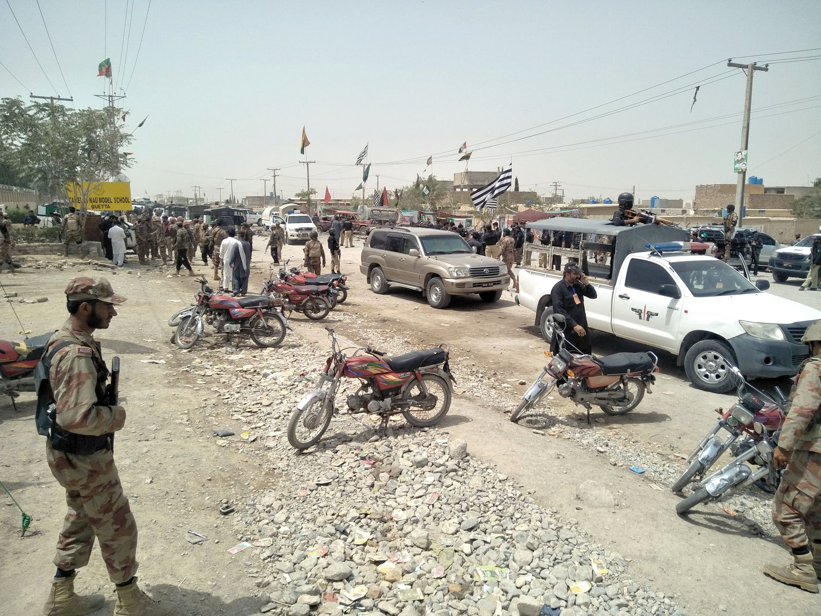 Pakistan/ Selbstmordattentat