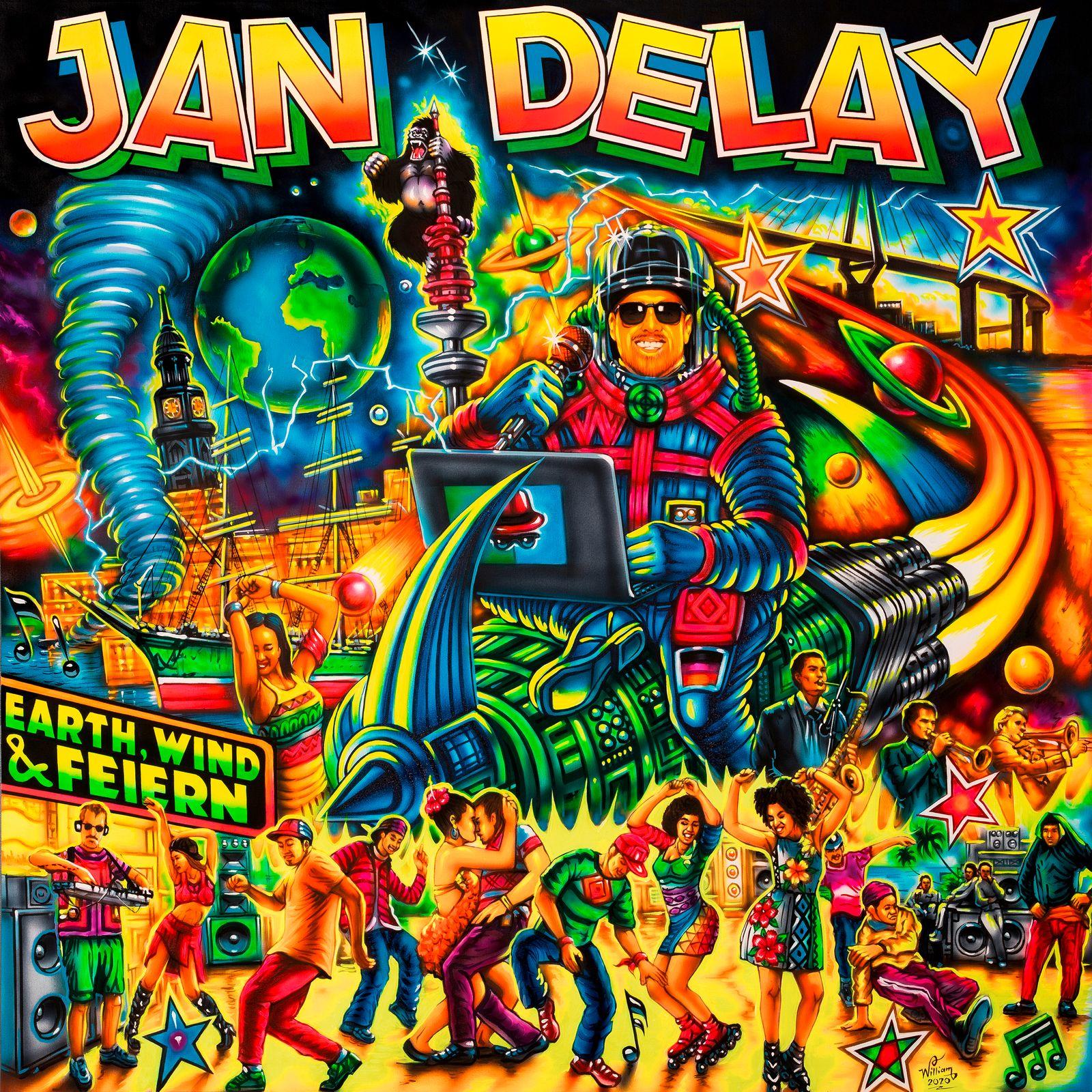 Jan Delay: Earth, Wind & Feiern COVER