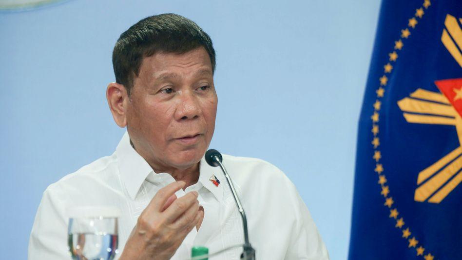 Der philippinischer Präsident Rodrigo Duterte