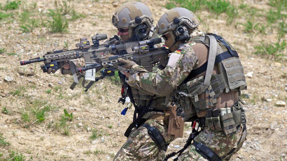 KSK-Soldaten (Archivfoto vom Juni 2019)