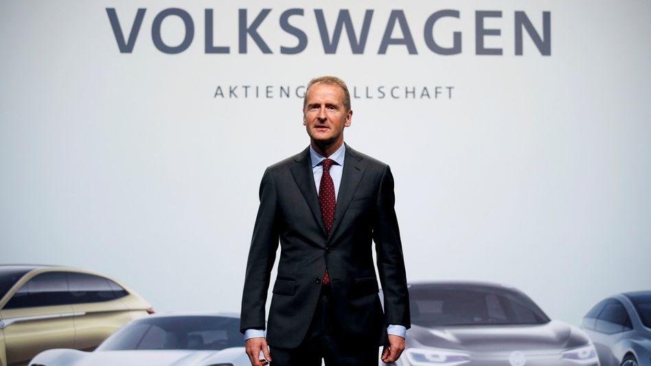 VW-Chef Herbert Diess (Archivbild)