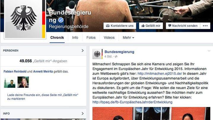 Facebook: So bietet die Bundesregierung den Trollen Paroli