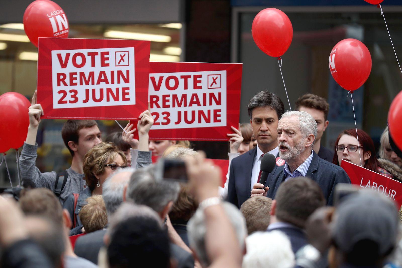 Jeremy Corbyn / Brexit / Remain