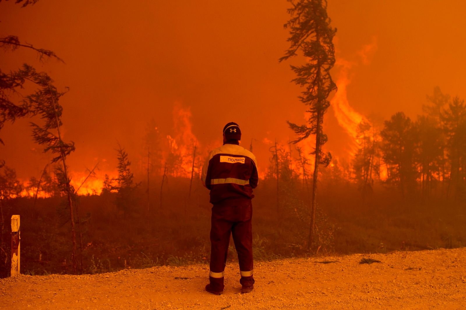 Russia Wildfires