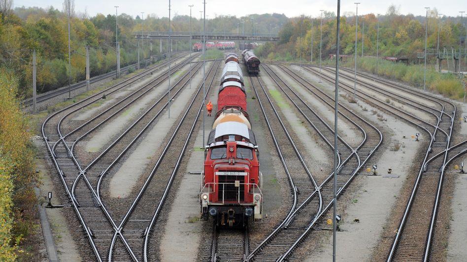 Rangierbahnhof Nord in München: »Das Tarifeinheitsgesetz wirkt und funktioniert«