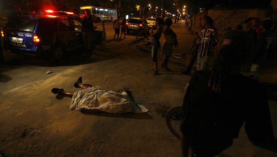 Mordopfer in Brasilien: Júlio Santana bat nach seinen Taten Gott um Vergebung