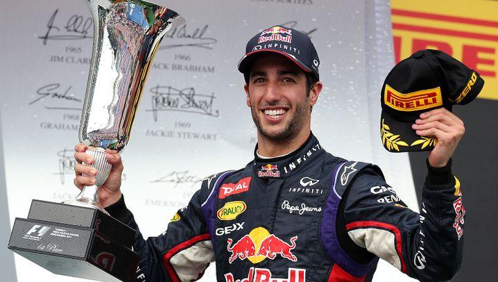 Ricciardos Erfolg in Ungarn: Triumph des Strahlemanns
