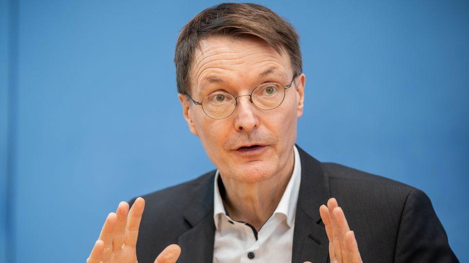 SPD-Politiker Lauterbach: »Dramatische Corona-Entwicklung im Vereinigten Königreich«