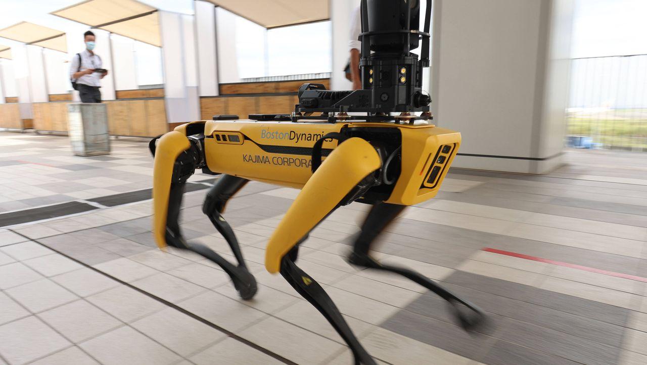 Boston Dynamics: New Yorker Polizei setzt Roboterhund ein - DER SPIEGEL