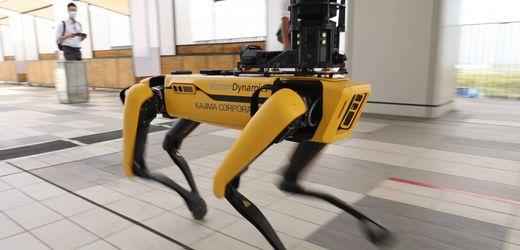 Boston Dynamics: New Yorker Polizei setzt Roboterhund Spot in der Bronx ein