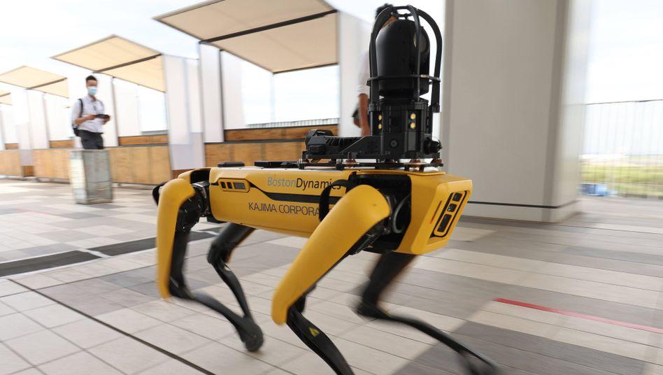 Boston-Dynamics-Roboter Spot: Die New Yorker Polizei nennt ihr Testexemplar »Digidog«