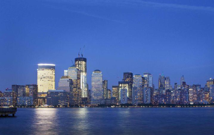 Finanzplatz Manhattan