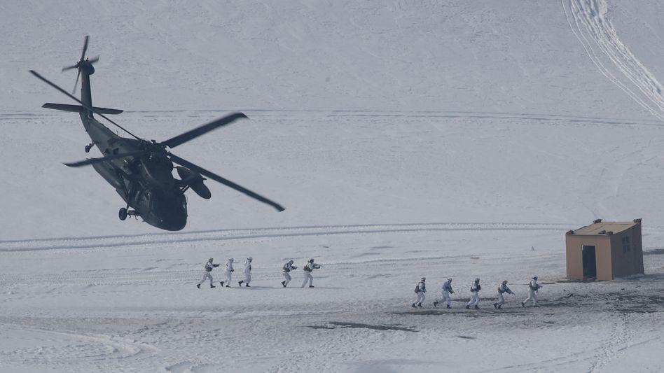 Militärübung in der Türkei