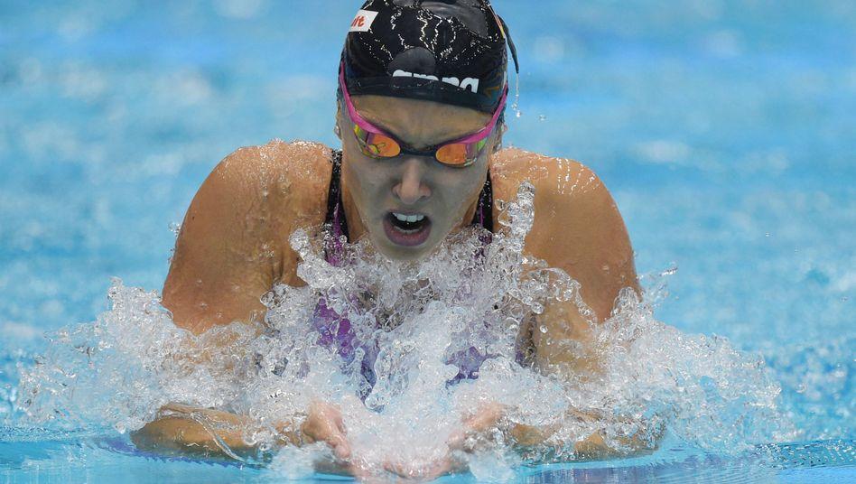 Schwimmerin Alexandra Wenk