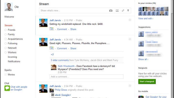 Google+: So funktioniert das neue soziale Netz