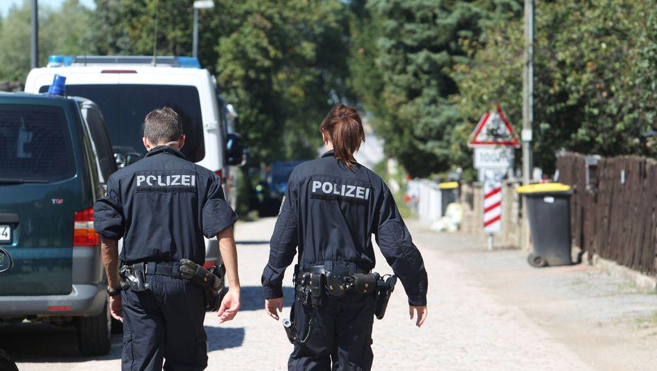 Polizeieinsatz in Reuden