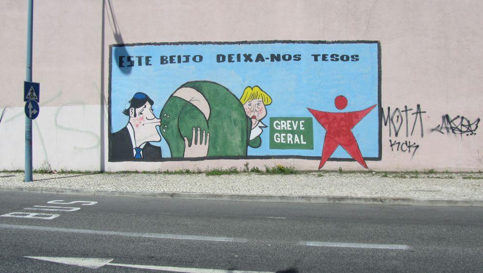 """Street-Art in Portugal: """"Lass alle Hoffnung fahren"""""""