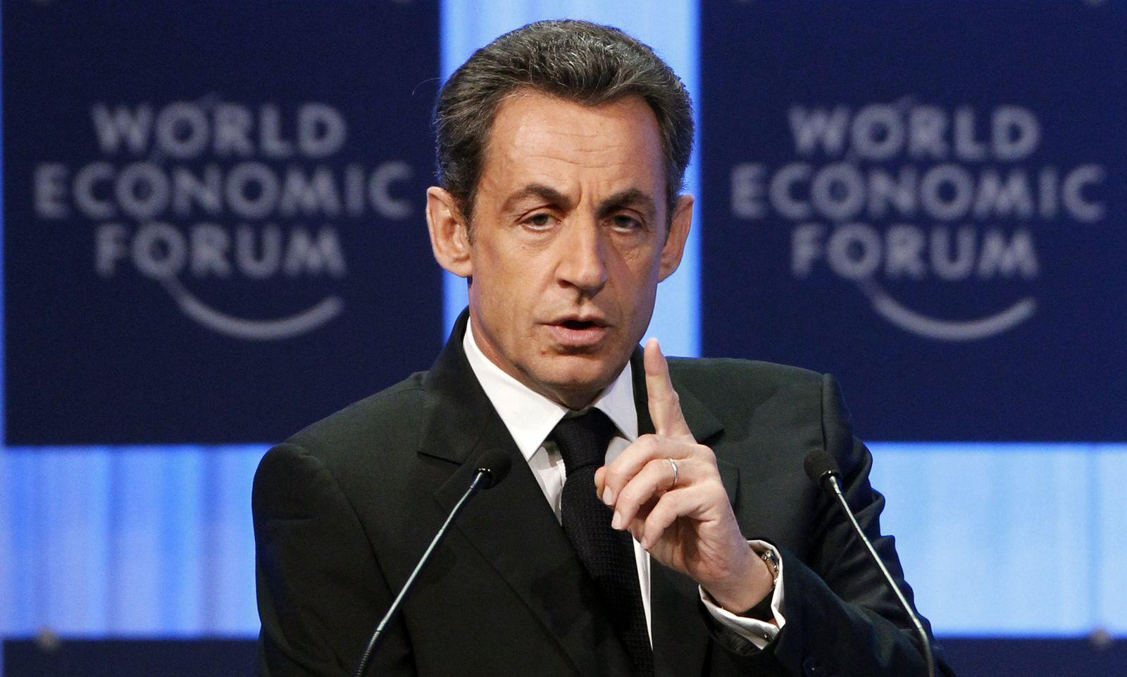 DAVOS Sarkozy