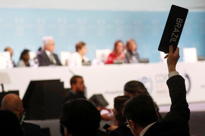 Klimakonferenz in Madrid im Dezember 2019 – seitdem sahen sich die Diplomaten nur virtuell