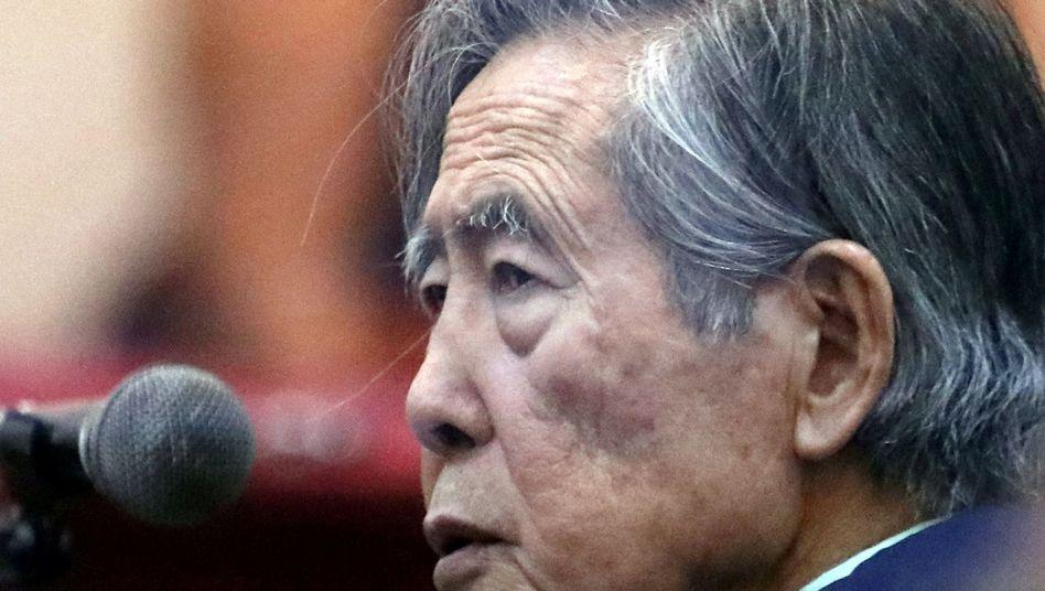 Perus Ex-Präsident Alberto Fujimori (Archiv)
