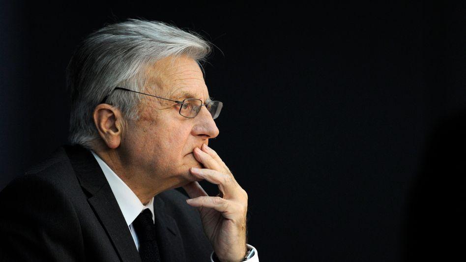 EZB-Präsident Jean-Claude Trichet: Unter dem Druck der Politik