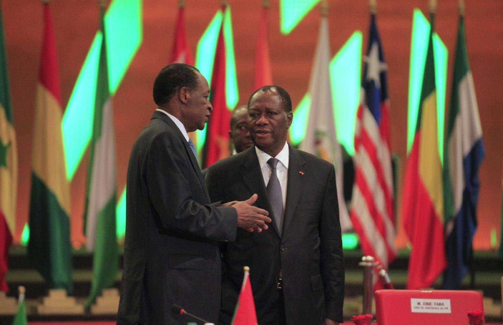 Mali / Alassane Ouattara / Blaise Compaore