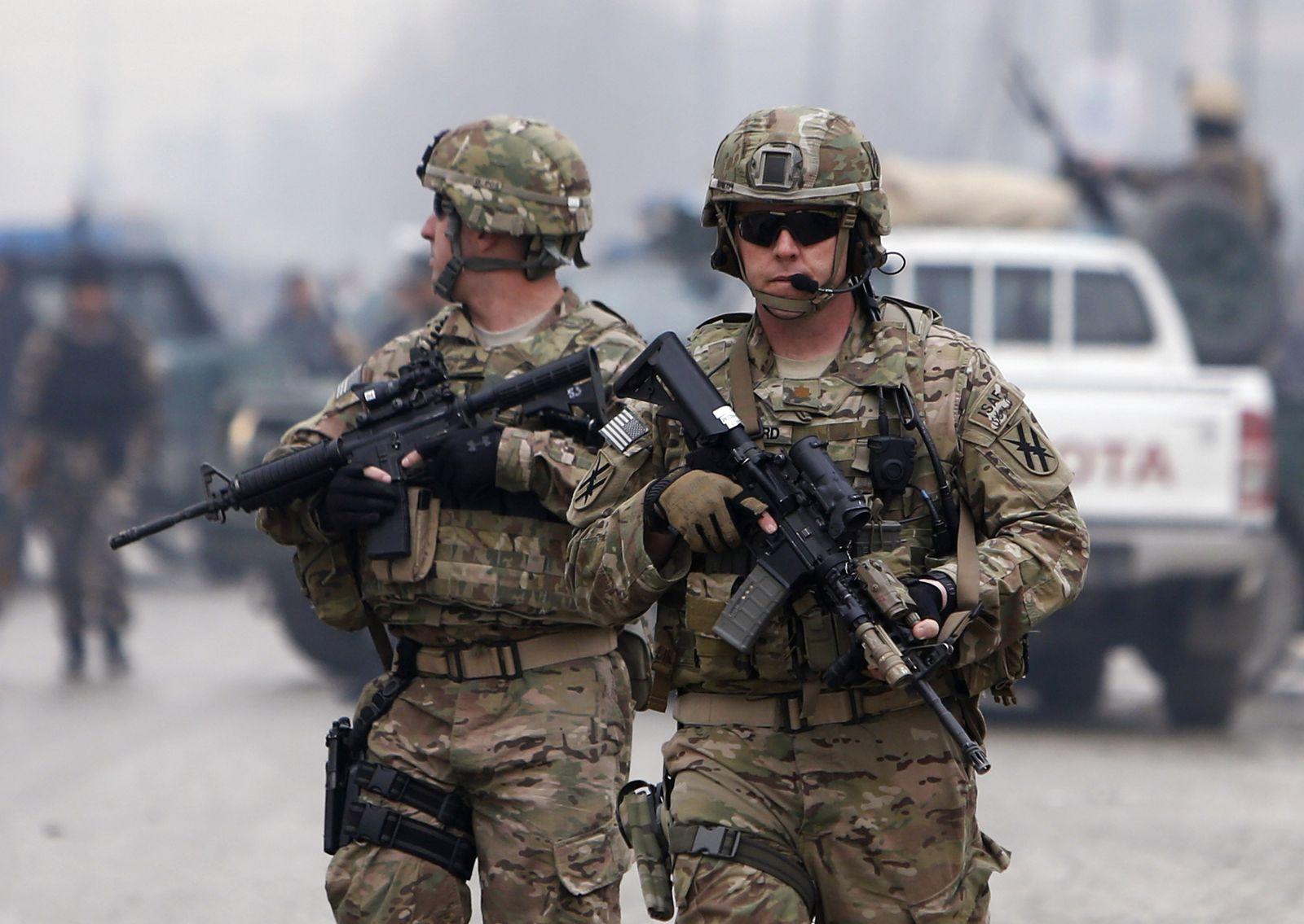 Afghanistan / Kabul / US-Soldaten