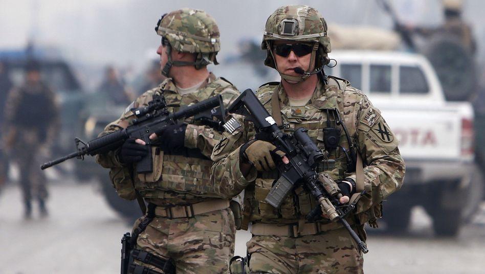 US-Soldaten im Einsatz: Abwehr von Zombies gefordert