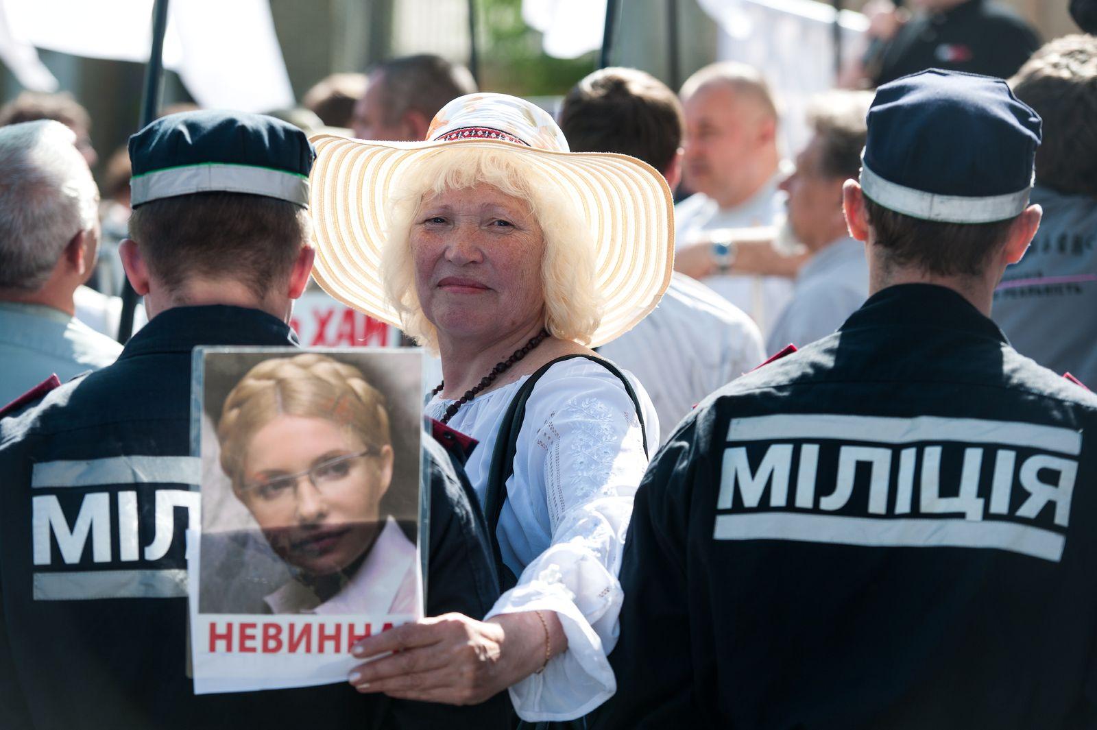 NICHT VERWENDEN Ukraine/ Julia Timoschenko/ Protest