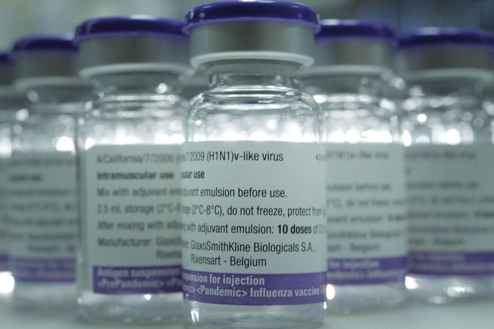 NICHT VERWENDEN Impfdosen / Pandemrix / Schweinegrippe