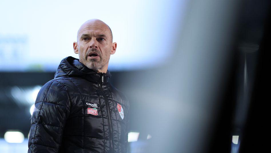 Sein Team wird nicht im DFB-Pokal gegen Schalke antreten: Türkgücü-Trainer Alexander Schmidt