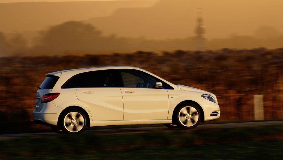 Mercedes-Benz B-Klasse: Tesla soll den Motor für ein Elektromodell liefern