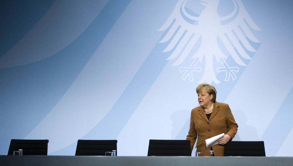 German Chancellor Angela Merkel's government almost collapsed over the weekend.