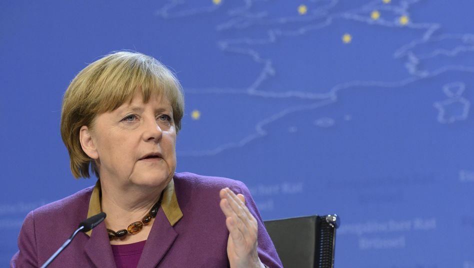 """Merkel: """"Es ist das Merkmal einer Garantie, dass sie gilt"""""""
