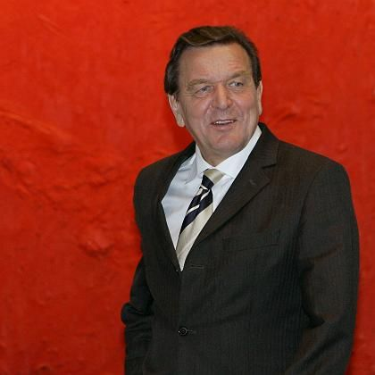 "German Chancellor Gerhard Schröder: ""The minute a chancellor leaves office he becomes a private citizen."""