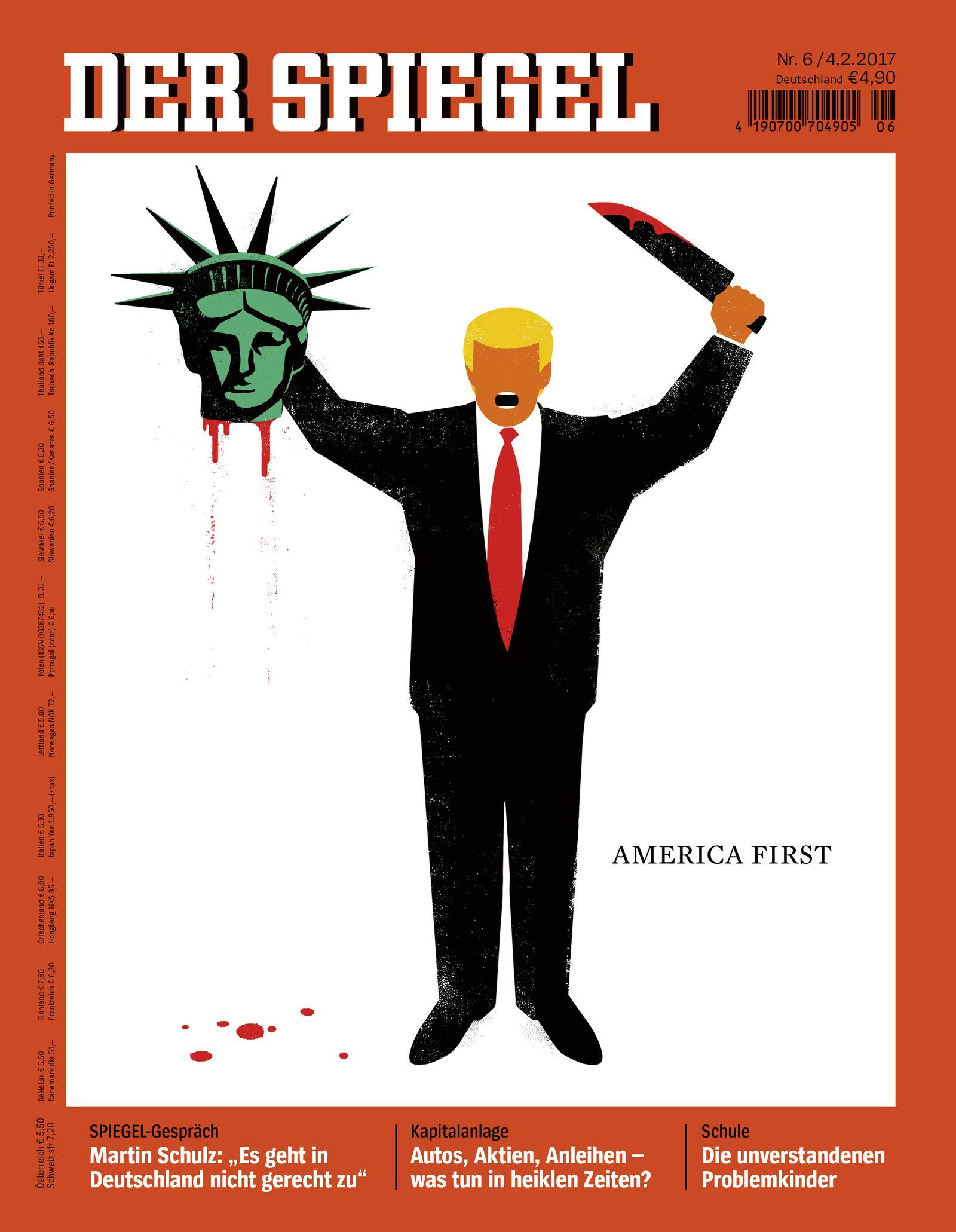 Spiegel-Cover/ Trump